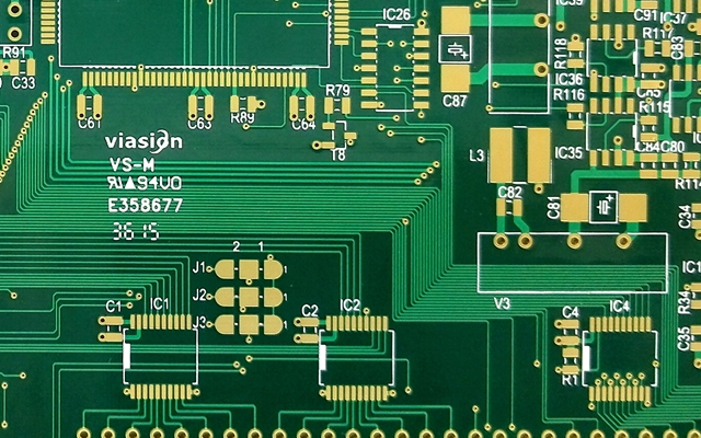 PCB board will have multiple colors for analysis