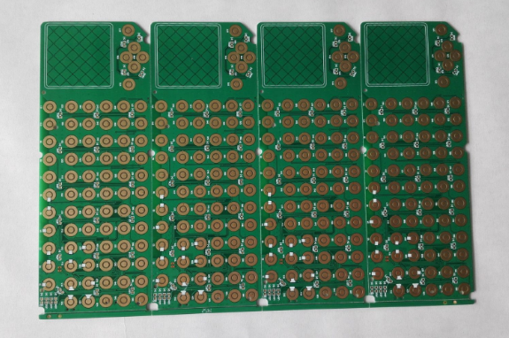 6-layered Flexible PCB with Silver Ink Printed and Immersion Gold Surface