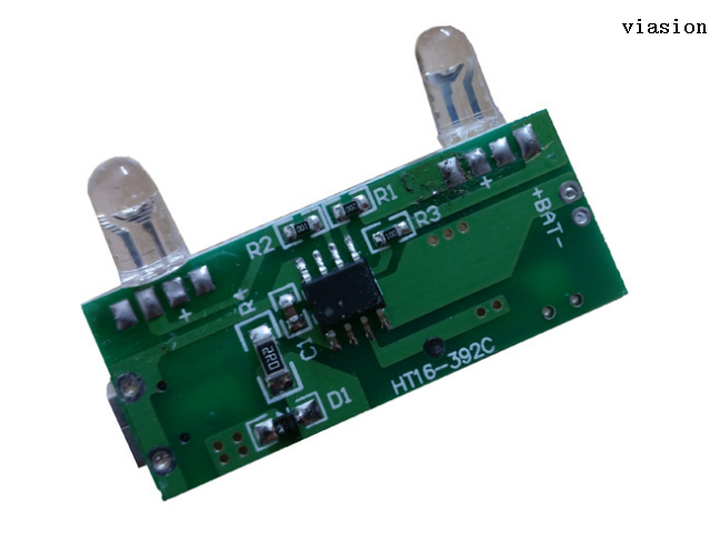 Circuit board manufacturers identification IC tag and the pins of the method