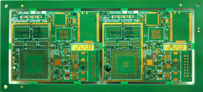 4-layer PCB with Gold Finish, Made of Rogers 4003 Material